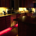 Under Cabinet LED Flexible Light Strip Kit (500 cm)