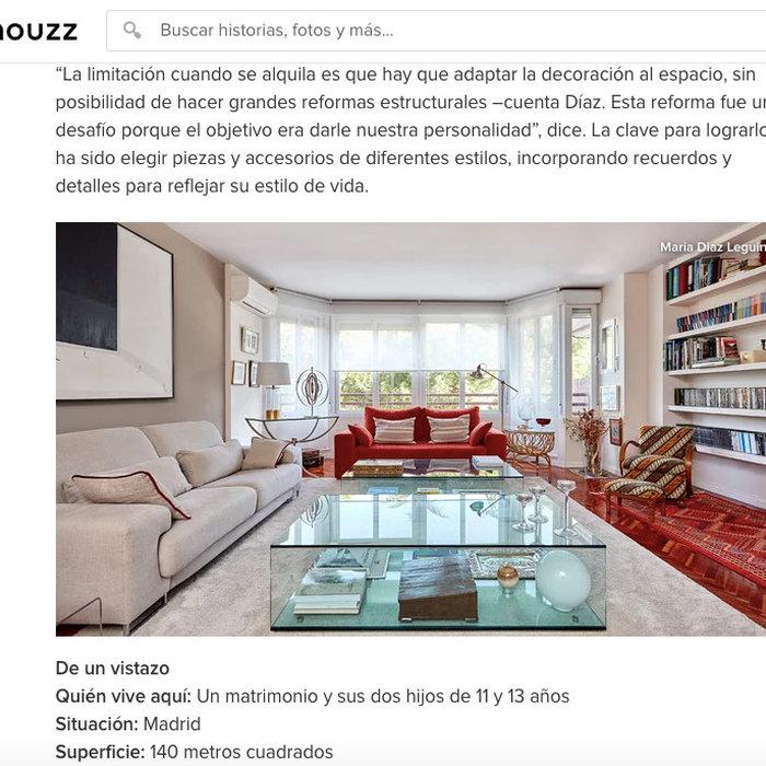 Proyecto Arturo Soria en la revista Houzz