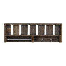 Reclaimed Wood Versatile Bathroom Shelf