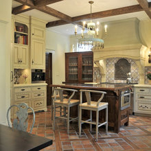 Historic Home with Traditional kitchen