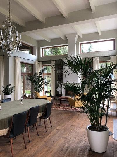 В гостях: Дом с садом у графской аллеи