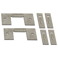 FC Floor Heating Cable 2 Nail Plates & 4 Single Straps