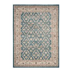 Safavieh Sofia Collection SOF378 Rug, Blue/Beige, 10' X 14'