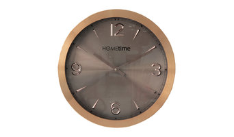 Hometime Wall Clock Aluminium