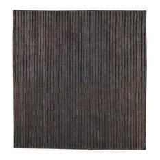 Hand Woven Grey New Zealand Wool Area Rug