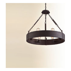 Jackson, Pendant, 6 Light, Copper Bronze Finish