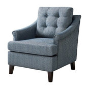 Charleston Tufted Club Chair, Navy
