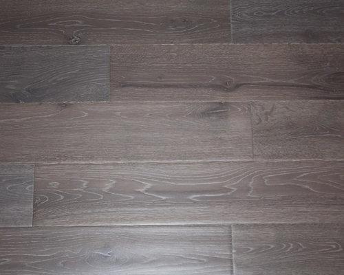Oak Grey 34 X 5 Hand Scraped Solid Hardwood Floors