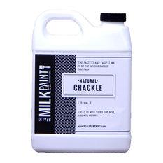 Natural Crackle, Amber, 32 Oz.