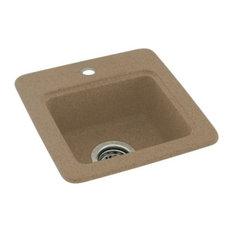 Swan 15x15x6 Solid Surface Drop Bar Sink, 1-Hole, Barley