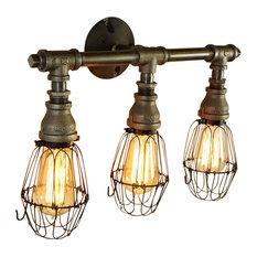 Vintage Style 3-Bulb Vanity Light