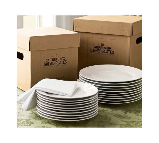Traditional Dinnerware by Pottery Barn  sc 1 st  Houzz & Guest Picks: White Dinnerware for the Holidays and After