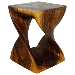 Rustic Side Tables And End Tables by Haussmann Inc.