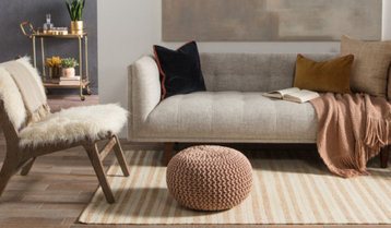 Rugs in Warm Hues With Free Shipping