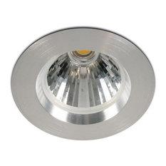 contemporary recessed lighting. One Light - Cob LED Recessed Downlight, Aluminum Finish, 7W Housings Contemporary Lighting