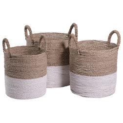 Beach Style Baskets by Zodax