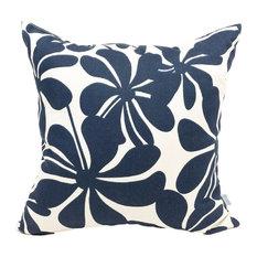 Outdoor Plantation Pillow, Navy Blue