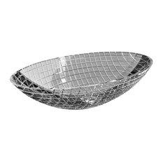 De Medici Luxor Crystal Oval Modern Sink