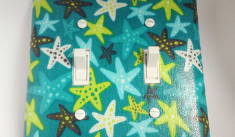Starfish Light Switch Plate - Outlet Cover