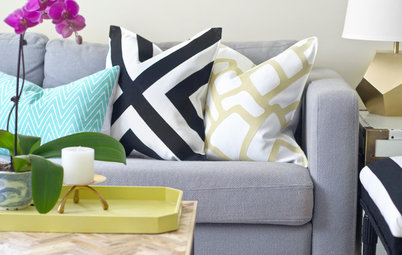 Make a Designer-Look Pillow Sham for $15