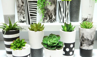 Concrete Homewares - Sample of Monochrome Designs