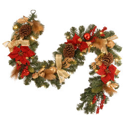 Traditional Wreaths And Garlands by clickhere2shop