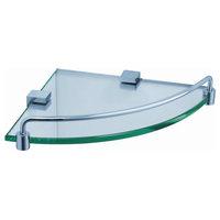 Fresca Ottimo Corner Glass Shelf, Chrome