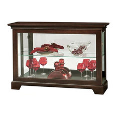 howard miller howard miller underhill iii curio cabinet china cabinets and hutches