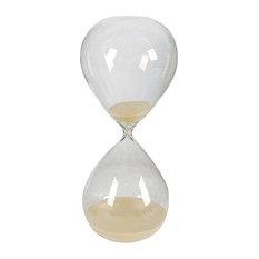 2 Hour Hourglass Sand Timer, Tan