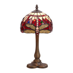 Belle Rouge Series Table Lamp With Tripod Base