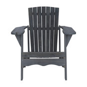 Safavieh Vista Outdoor Adirondack Chair, Ash Gray