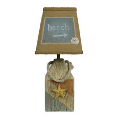 Ordinaire West Highland Group   Starfish Buoy Coastal Accent Lamp   Table Lamps
