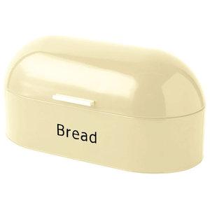Chef Vida Retro Bread Bin, Cream