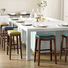 Modern Bar Stools And Counter Stools Julien Leather Bar Stool