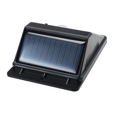 YesHom   4 LED Outdoor Solar Power Motion Sensor Wall Light Waterproof    Outdoor Wall