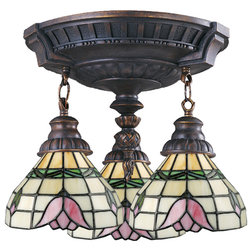 Victorian Flush-mount Ceiling Lighting by GwG Outlet