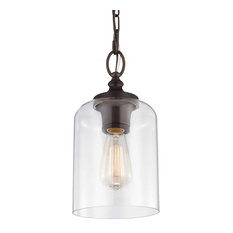 Feiss - Monte Carlo - Murray Feiss P1310ORB Hounslow Mini Pendant Light Oil Rubbed Bronze  sc 1 st  Houzz & 50 Most Popular Oil-Rubbed Bronze Pendant Lights for 2018 | Houzz
