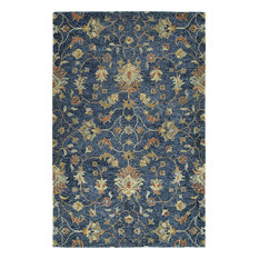 Kaleen Chancellor CHA05-10 Hand-Tufted Rug, Denim, 10'x14'