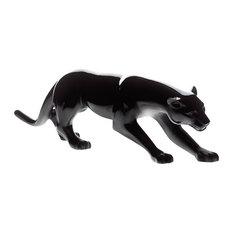 Daum Crystal Panther Black