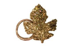 Antique Gold Leaf Napkin Ring