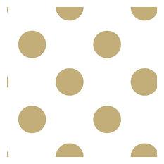 Superfresco Easy Gold Metallic Dotty Wallpaper, Roll