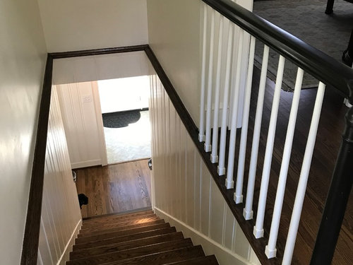 Narrow Stairs No Railing Now What To Do