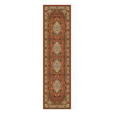 Edward Persia Garnet Runner, 90x300 cm