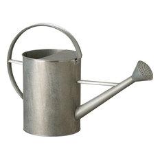 Galvanized Zinc Watering Can, Gray