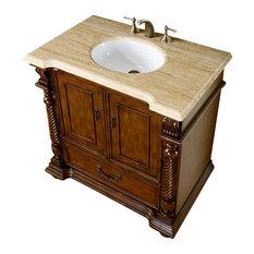 silkroad exclusive 36 inch traditional single sink bathroom vanity bathroom vanities and sink consoles