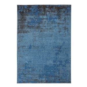 Revive Distressed RE12 Rug, Blue, 200x300 cm