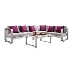 Fairy 5-Piece Outdoor Sofa Sectional Set