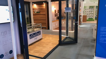Origin Moving Corner Bifold Door