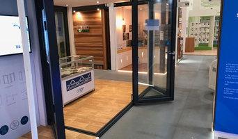 Origin Moving Corner Bifold Door