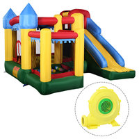 Costway Mighty Inflatable Bounce House Castle Jumper Moonwalk w/680W Blower New